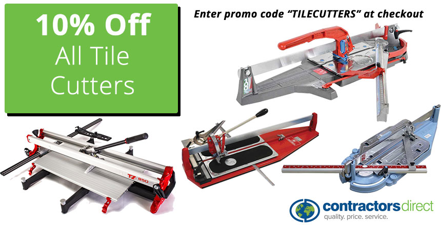 Tile Cutters Promotion