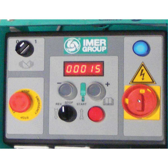 Imer Step-Up 120 Spray Pump Control