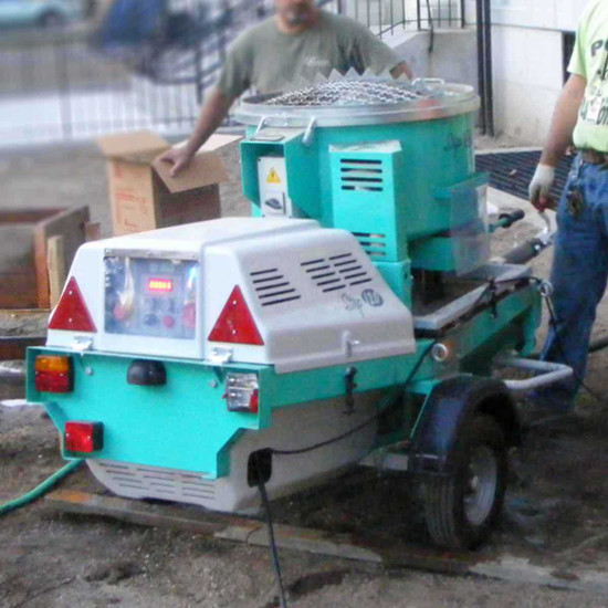 Imer Step-Up 120 with Mortarman 120 Plus Mortar Mixer