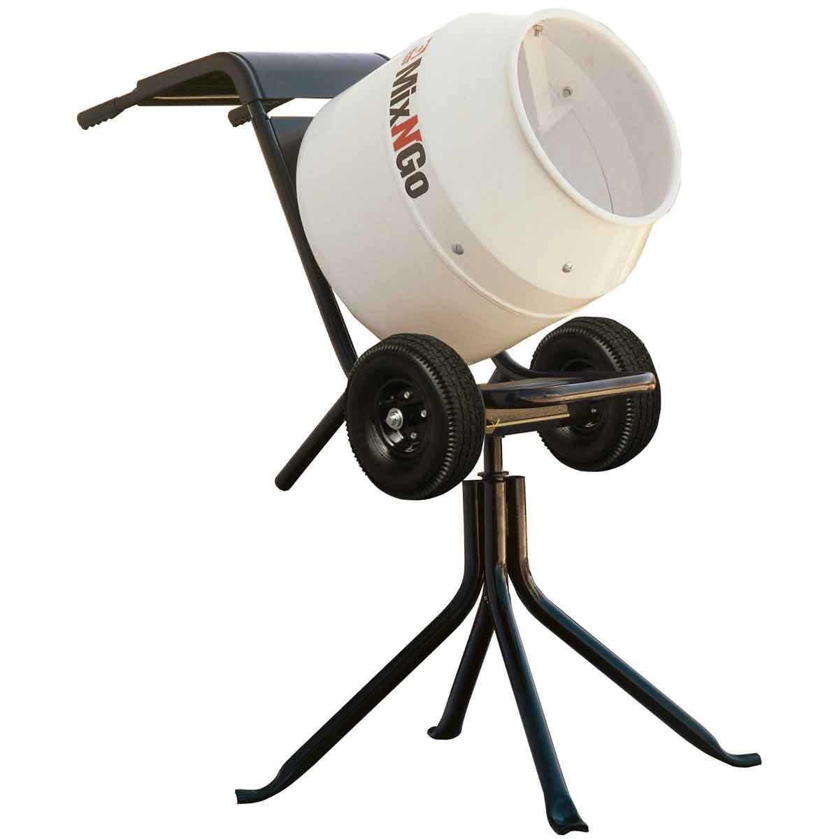 Mixers On The Go ~ Multiquip mix n go steel drum concrete mixer contractors