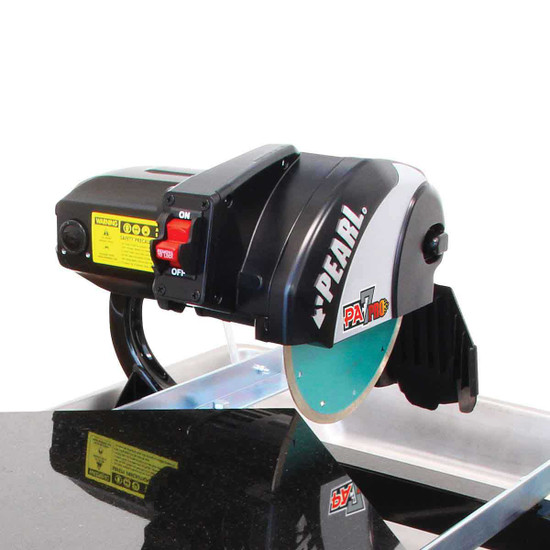 "Pearl 7"" Professional Tile Saw Cuts Tile"