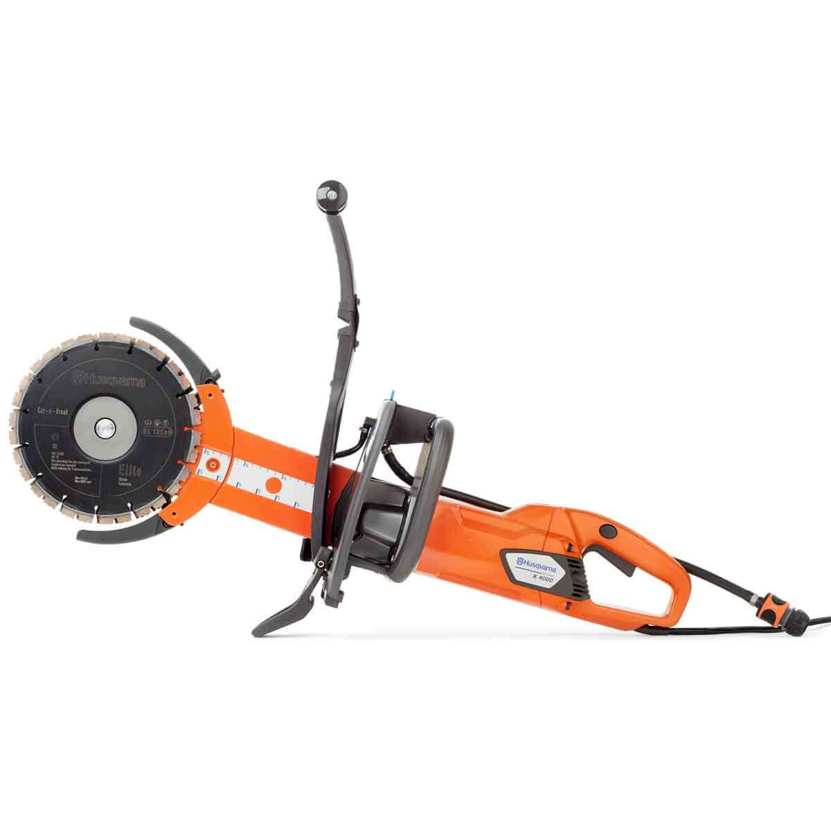 Wall Electric Masonry Saw : Husqvarna k cut n break saw contractors direct