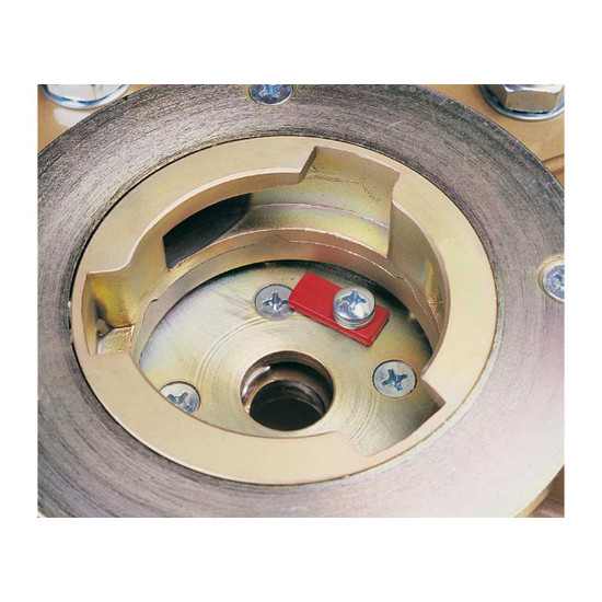 Hexplate with Clutch and Hexpin Assembly
