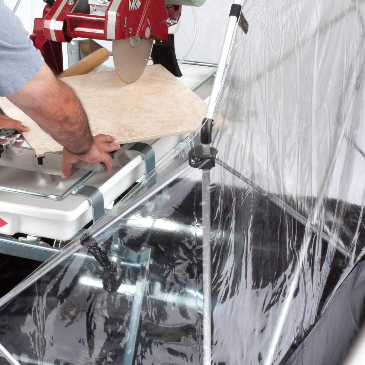 Barwalt saw shack wide indoor cutting capability