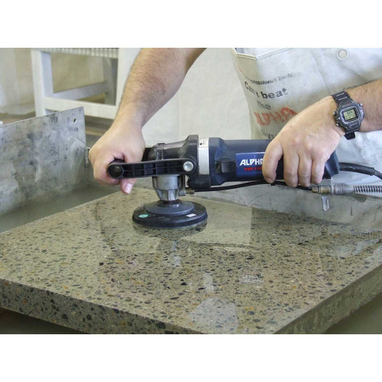 Polishing a Concrete Counter-Top with Alpha Tools 4 Step System