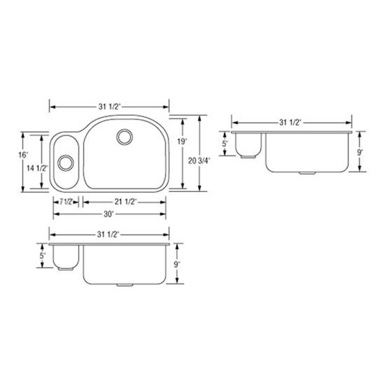 Artisan Sinks Reversed draw
