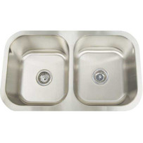 Artisan Sinks double bowl AR3218-D1