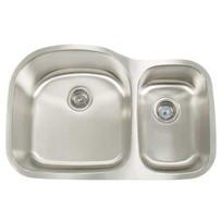 Artisan 16 Gauge Double Bowl sink