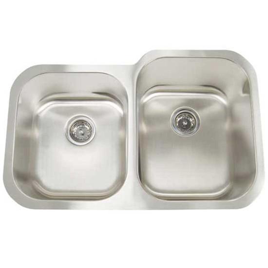 Artisan AR3221 Reversed Double Bowl Sink