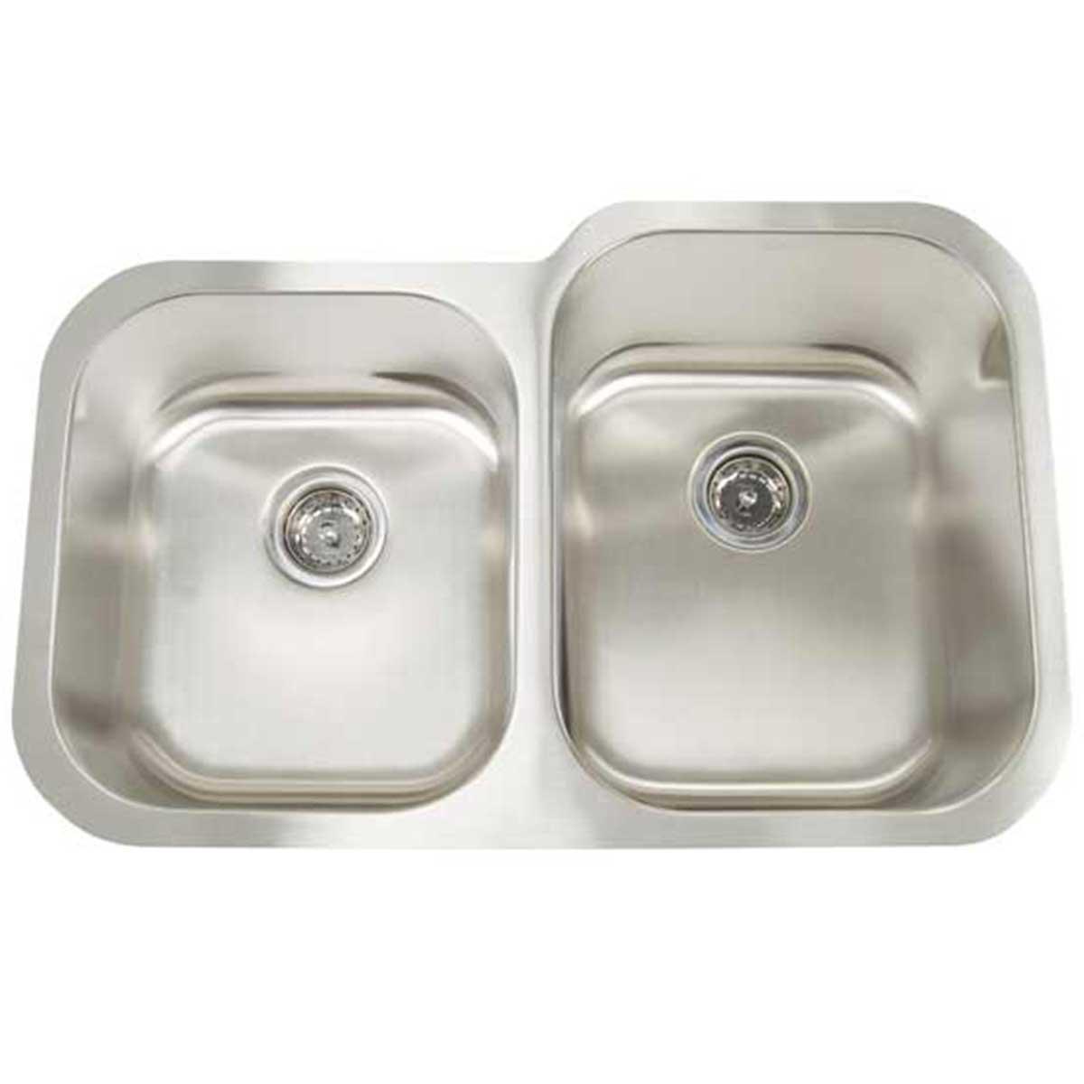 Artisan Reversed Double Bowl Sink