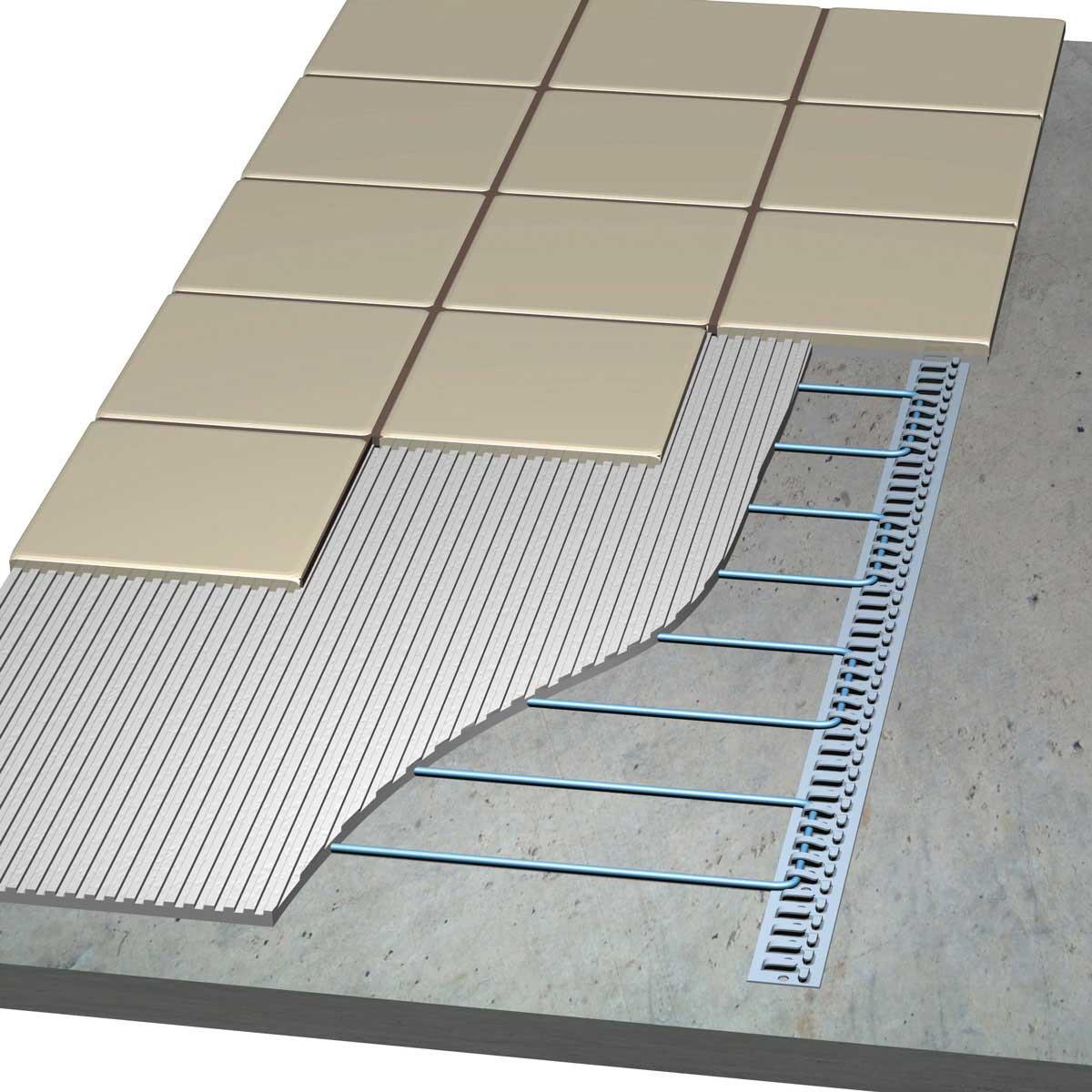 Laticrete Floor Heat Under Tile