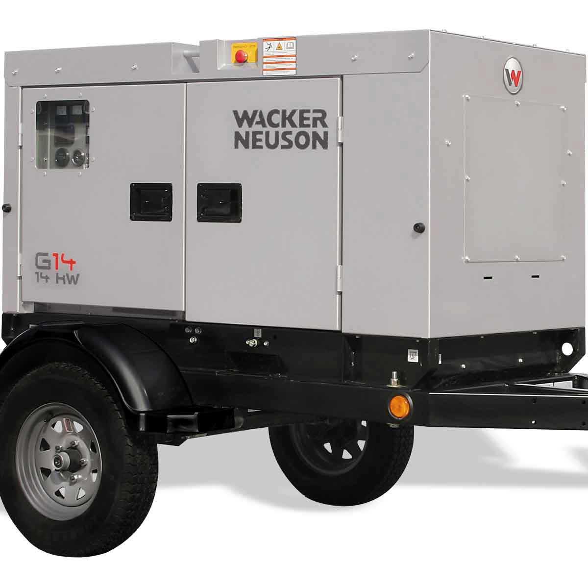 Wacker Neuson 14,000 watt mobile generator