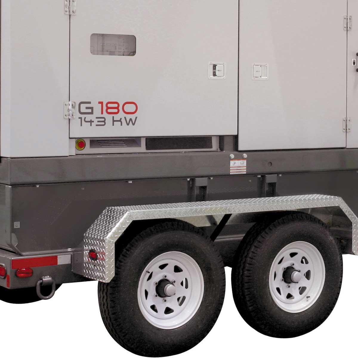 Wacker Neuson heavy duty mobile generator