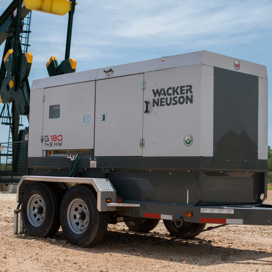 Wacker G 180 Heavy Duty Job Site Generator