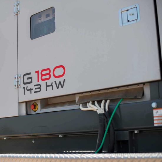 Wacker Neuson G 180 143 kW Generator