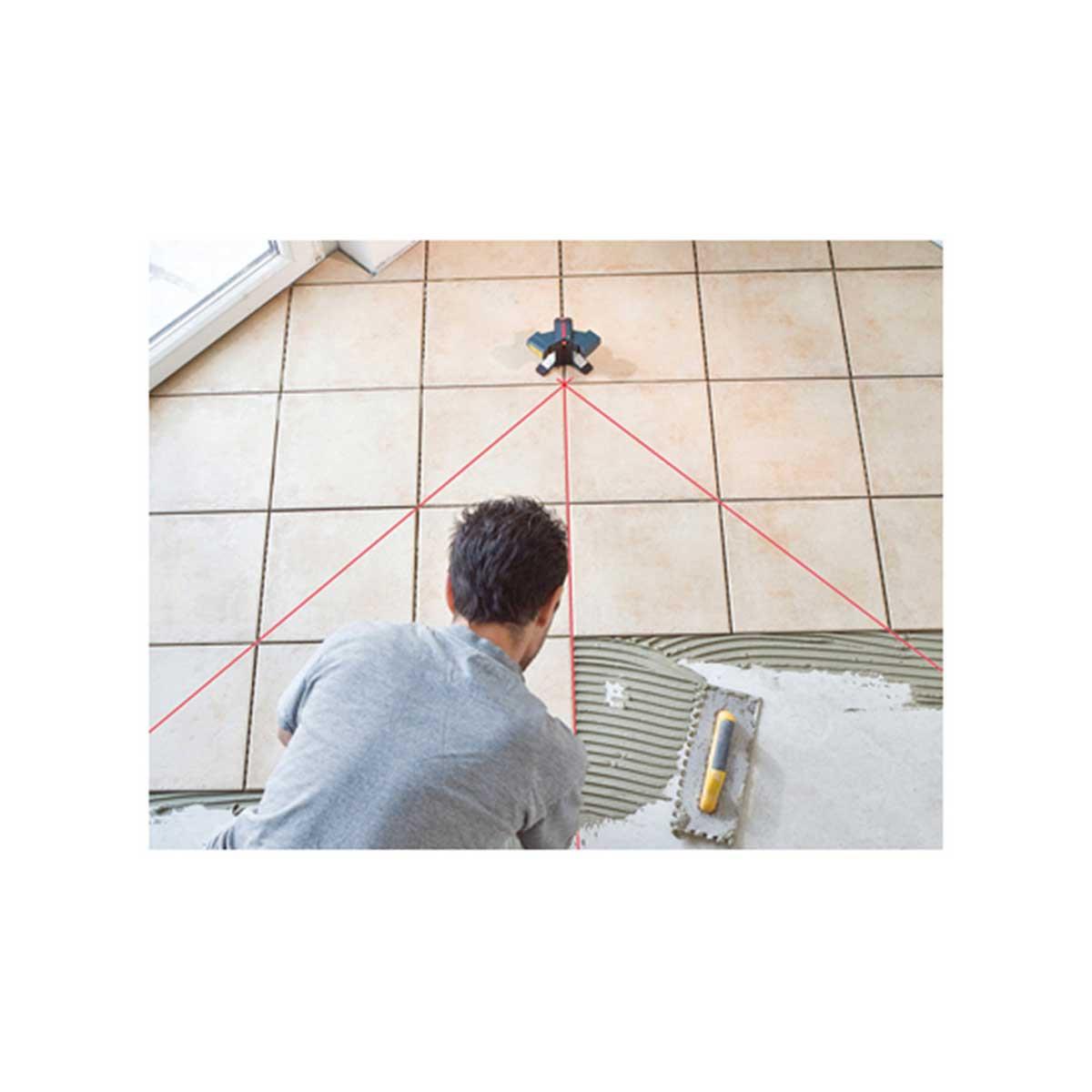 bosch gtl3 floor layout laser