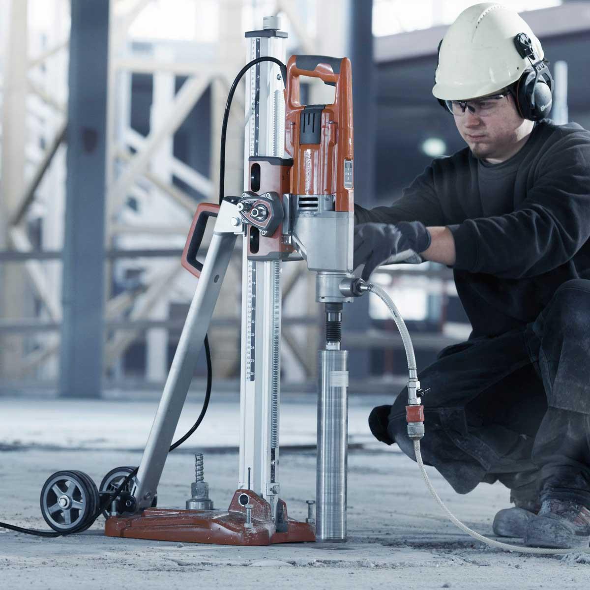 Husqvarna DS250 stand floor drill