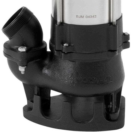 BJM SV400-115 Pump Discharge Port