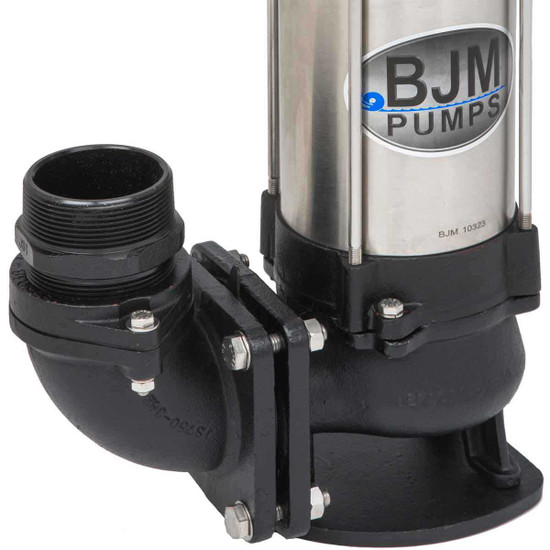 BJM SV750C-115 Pump Discharge Port