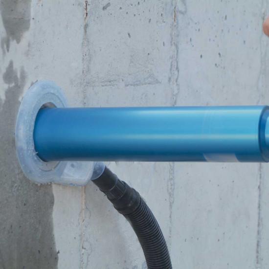 Core Drill Dust Shroud
