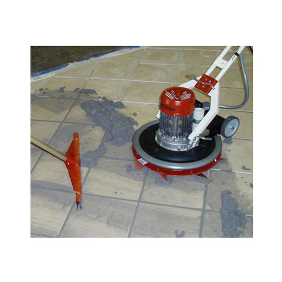 Raimondi Grout Rake with Grout Flooring Machine
