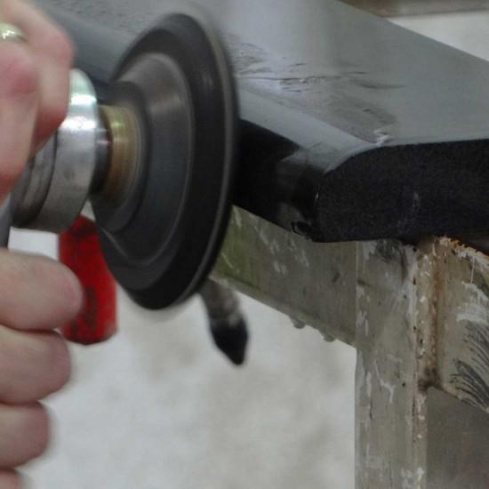 Alpha AIR-300 Stone Edge Polishing