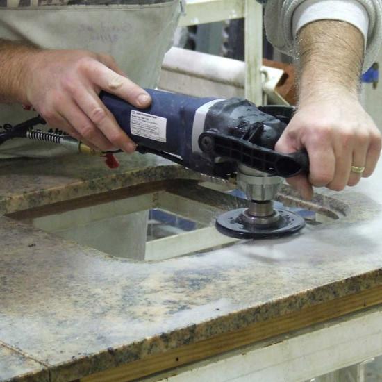 Alpha 1/4 inch Profiling Granite for Drop-in Sink