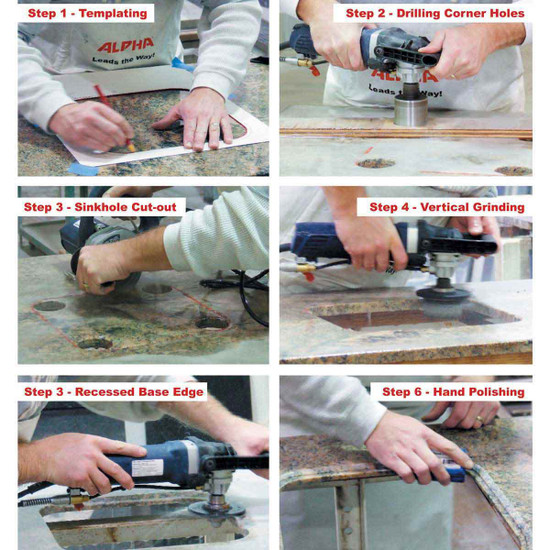 How to Install a Drop-In Sink with Alpha Tools