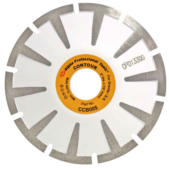 Alpha Tools Curve Cutting Blade for Granite and Engineered Stone