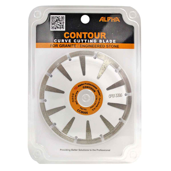 CCB005 Alpha Tools Contour cut undermount sink blade