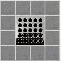 Polished Chrome Ebbe PRO Grate E4410