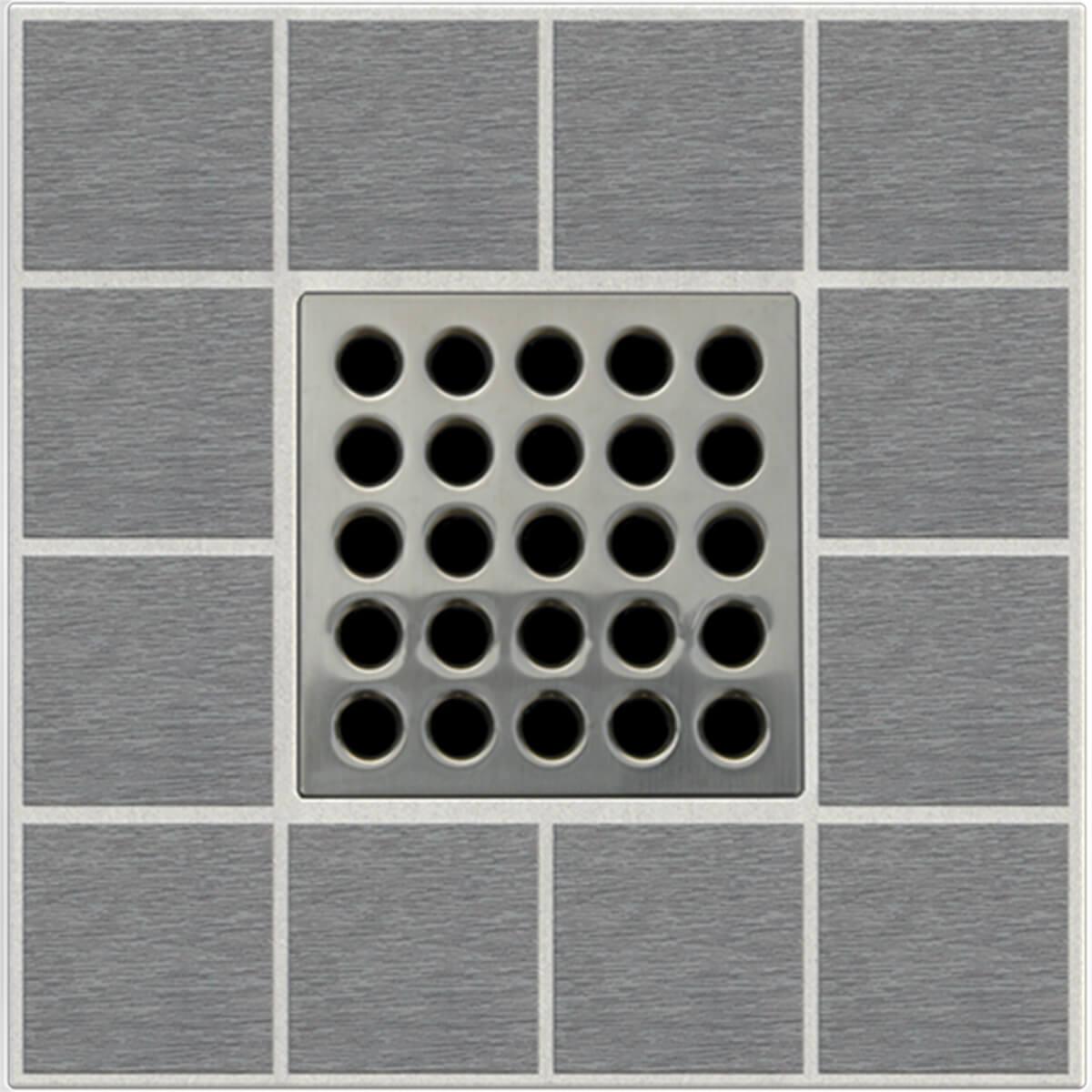 Sam Nickel Ebbe Grates For Shower Drains E4410