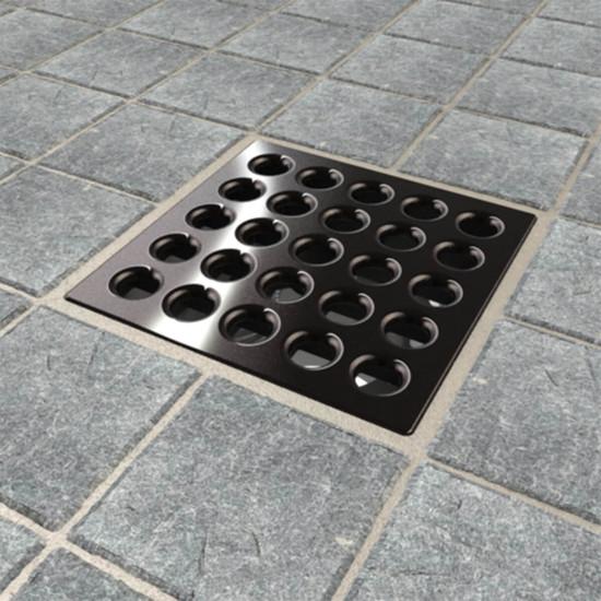 Oil Rubbed Bronze Ebbe PRO shower drain cover