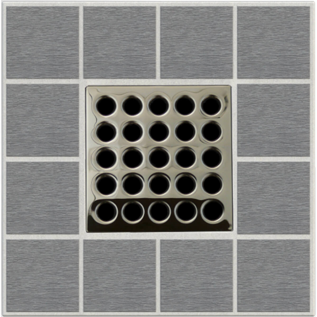 Polished Nickel Ebbe Grates For Shower Drains E4409