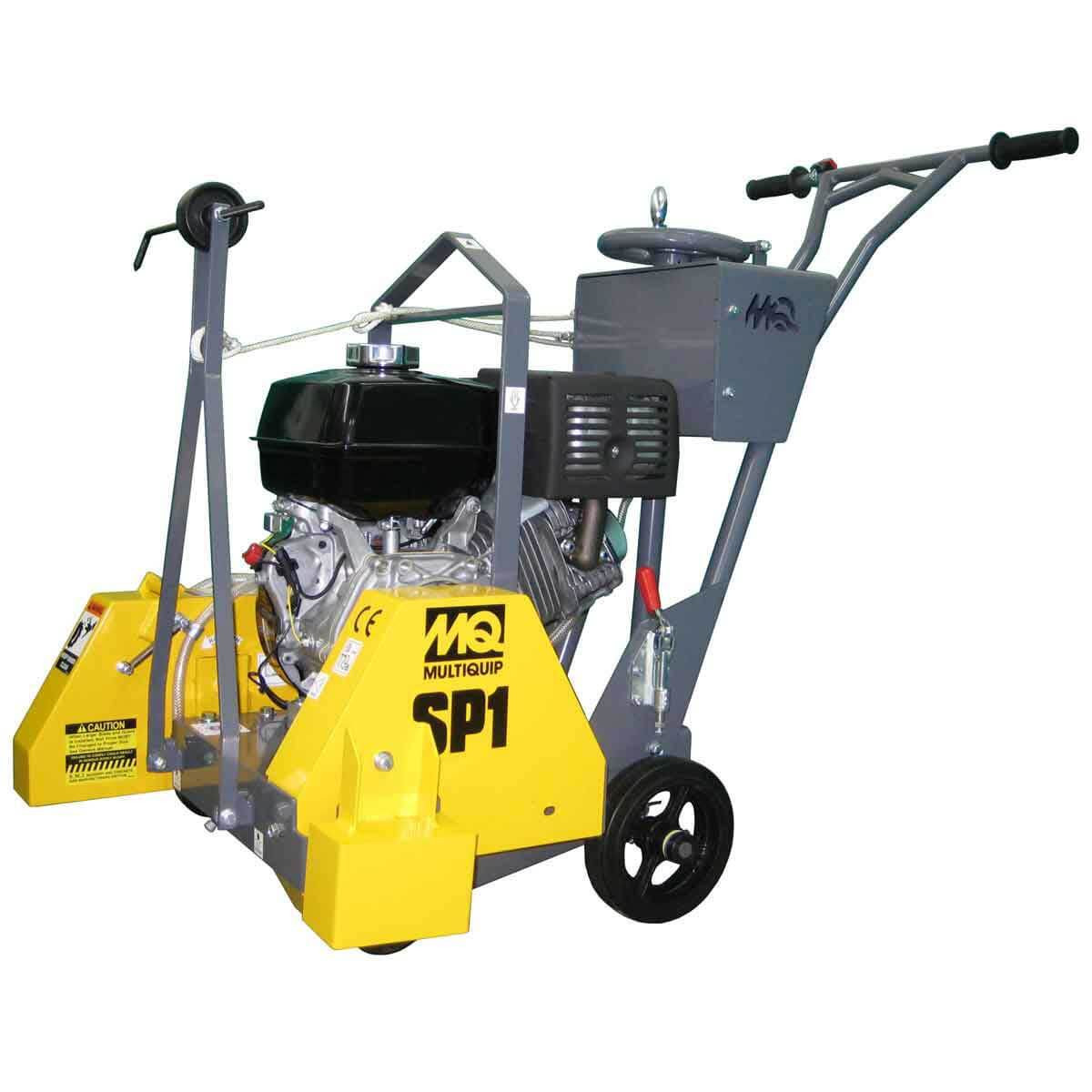 Multiquip SP118 gas Push saw