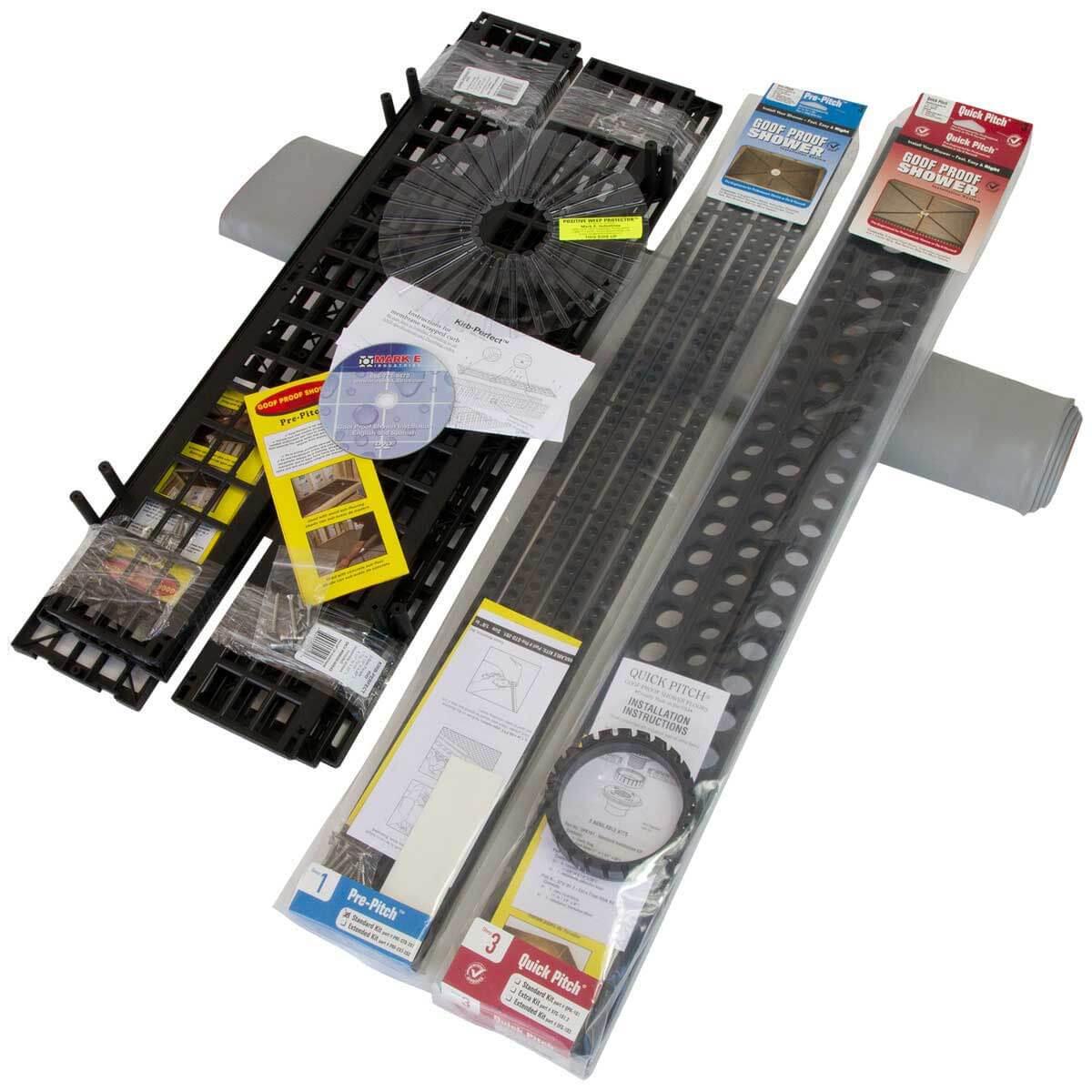 3 Piece Shower Installation Kit