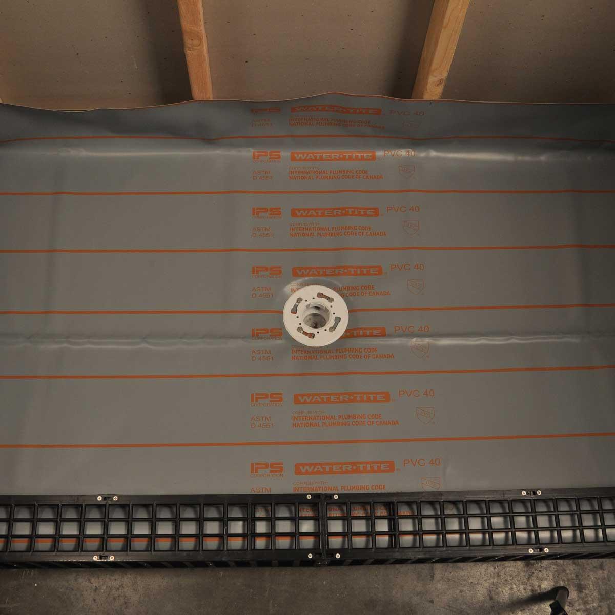 6' x 5' Noble Chloraloy Shower Pan Liner