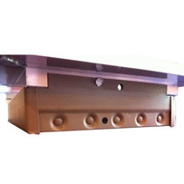 Chameleon Air Damper for the Chameleon Floor Registers Air supply louvers regulate airflow