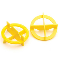Yellow Tavy 4-Corner View Tile Spacers 1001