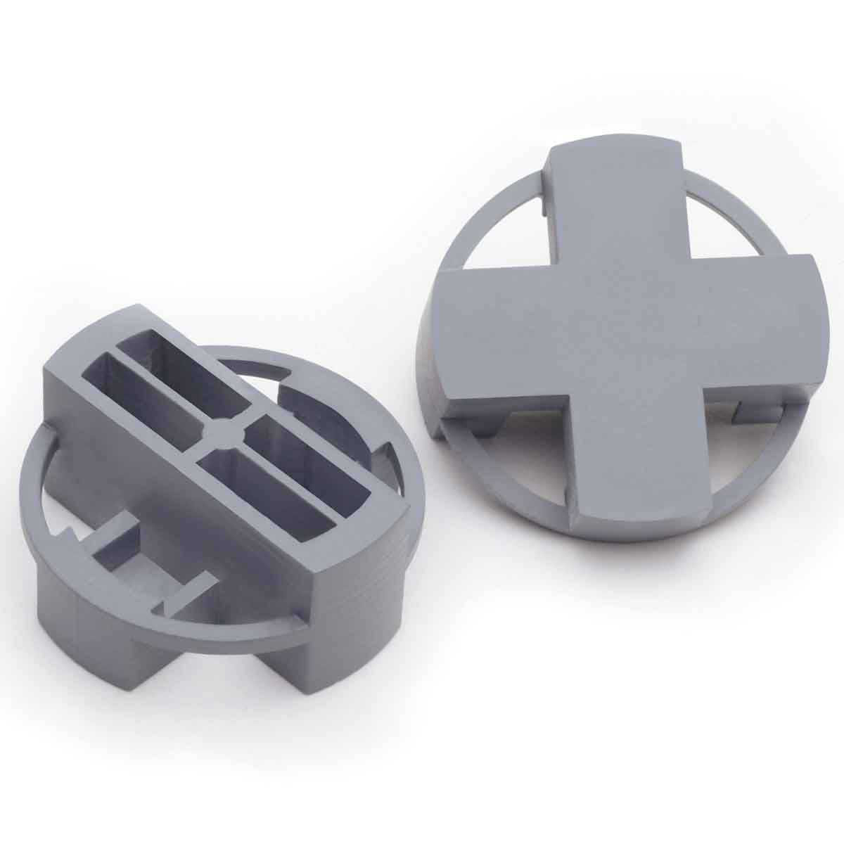 Gray Tavy 4-Corner View Tile Spacers 1007