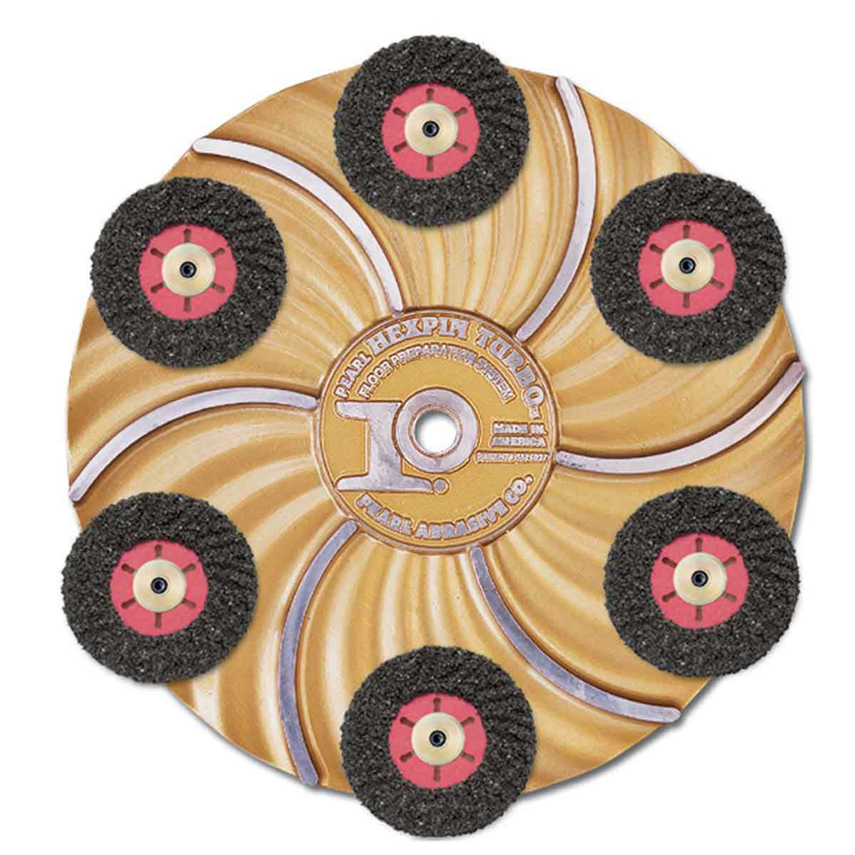 Pearl abrasive Turbo-cut disc