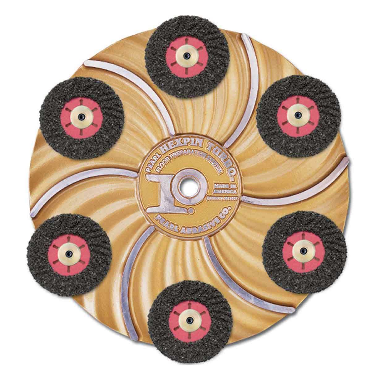 Pearl abrasive Turbo-cut disc