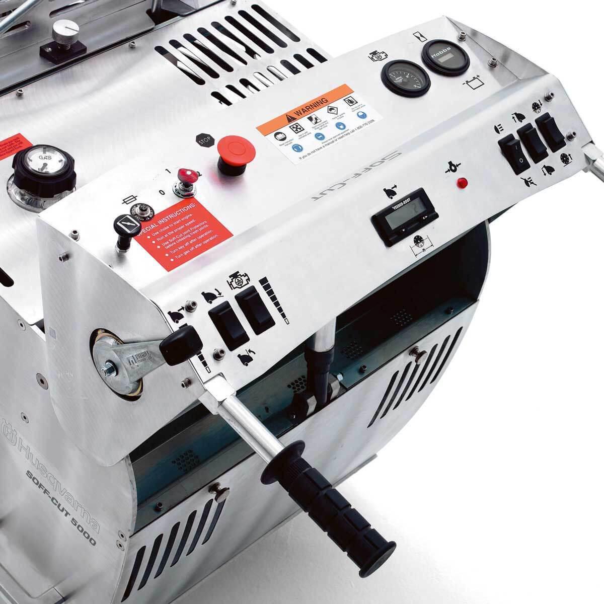 Soff-Cut 5000 saw console