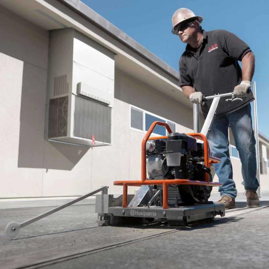 Cutting Green Concrete with Soff Cut 150 Machine