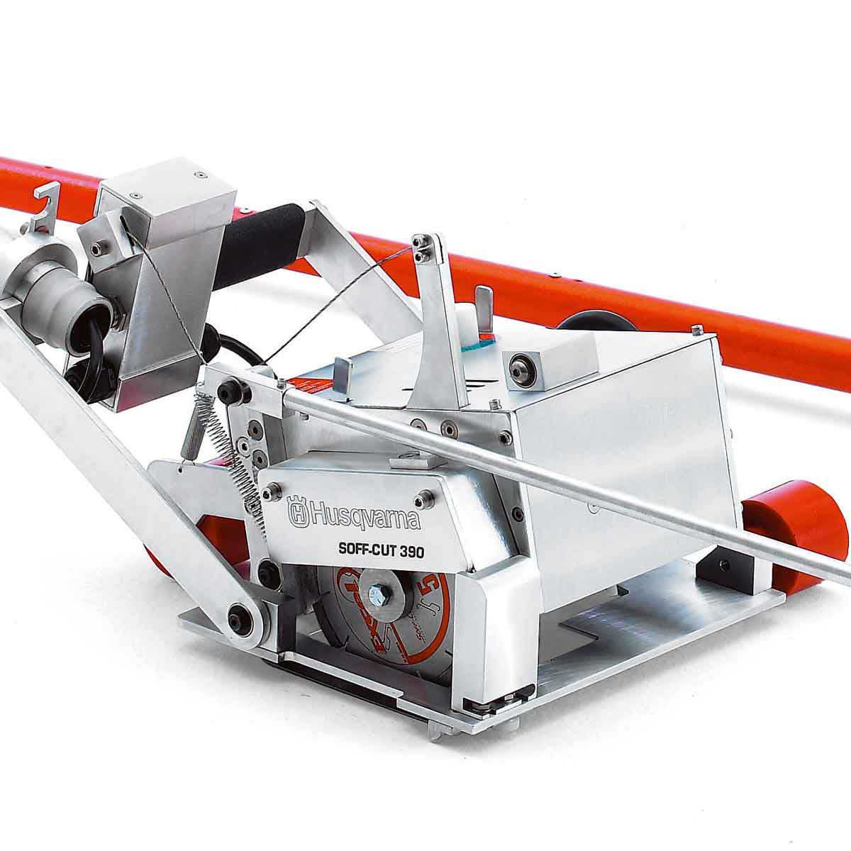 Husqvarna Soff Cut 390 Green Concrete Saw Contractors Direct