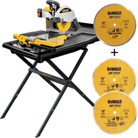Dewalt D24000 wet tile saw blade package
