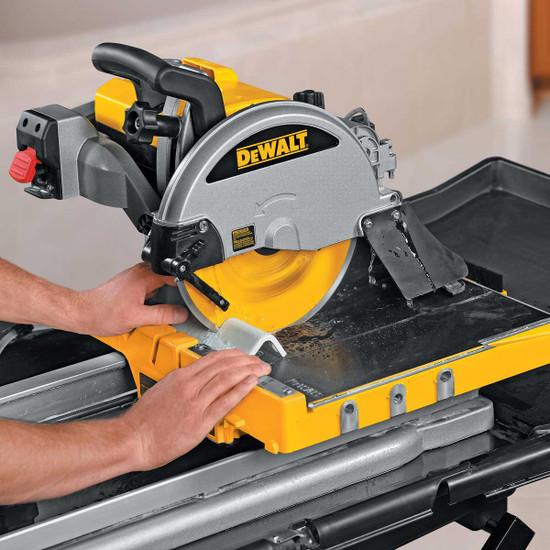 Dewalt D24000 wet cutting tile trim