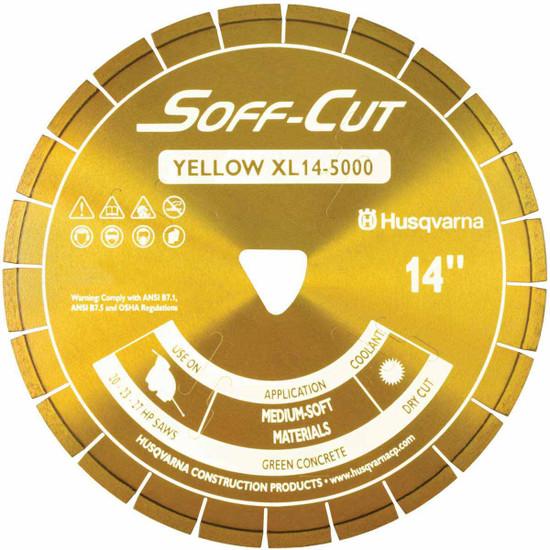 Husqvarna Soff-Cut Excel 5000 Yellow Ultra Early Saw Blade