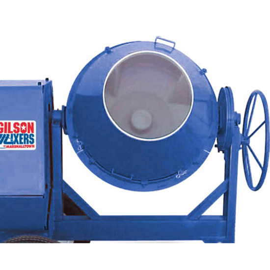 Marshalltown Concrete Mixer Steel Drum