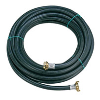 Imer 50 ft. x 1/2 inch Diameter Hose with Chicago Fittings